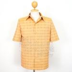 เสื้อสูทผ้าฝ้ายลายก้านมะลิ ไซส์ L