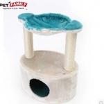 คอนโดแมว ที่ลับเล็บแมวขนาดกระทัดรัด ของ pet family