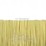ยางยืด เส้นกลม 1มม. สีเหลืองพาสเทล (144 หลา)