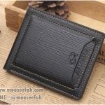 กระเป๋าสตางค์ผู้ชาย MS210 สีดำ