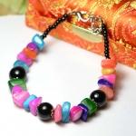 สร้อยข้อมือวินเทจ Stone Bracelet SL101