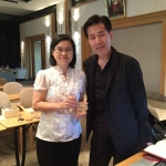 พัฒนาผลิตภัณฑ์ภายใต้โครงการผูู้สูงอายุญี่ปุ่นกับMr. Yuichi Maetani