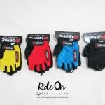 ถุงมือเจลครึ่งนิ้ว QEPAE รุ่น Single Color