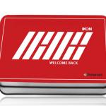 โพราลอยด์ + กล่องเหล็ก ikon WELCOME BACK