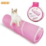 MU0012 อุโมงค์ที่นอนแมว ของเล่นแมวน้อย CRAZY Spiral cat tunnel