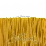 ยางยืด เส้นกลม 1มม. สีเหลือง (144 หลา)