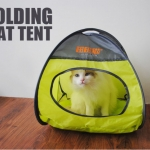MU0016 เต๊นท์นอนอุโมงค์แมว ตาข่าย ระบายอากาศได้ดี FOLDING CAT TENT