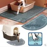 พรมเช็ดเท้าดักทรายแมว สำหรับวางไว้หน้าห้องน้ำแมว เพื่อความสะอาดสำหรับคนขี้เกียจล้างพื้นล้างห้องน้ำ