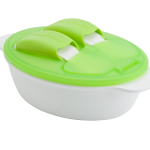 KK-05 ช้อนส้อมและชามรุ่น Mealtime Combo (เขียว)