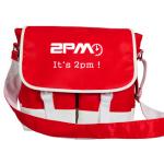 กระเป๋าสะพาย 2pm สีแดง
