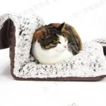 เปลนอนแมวแบบแขวนติดผนัง แขวนปลายเตียง นุ่มสบาย