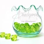 คริสตัลพลาสติก 10มิล สีเขียว (125 กรัม)