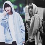 เสื้อฮู้ด V BTS Style (ระบุไซส์)