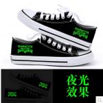 ❖ รองเท้าผ้าใบเรืองแสง Super Junior