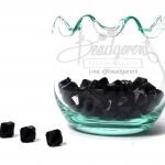 คริสตัลพลาสติก 8มิล สีดำ (500 กรัม)
