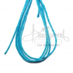 เชือกคอตตอน 1.5มม. สีฟ้า (1 หลา)