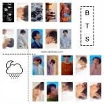 LOMO CARD 20รูป+ไม้หนีบ BTS LOVE YOURSELF