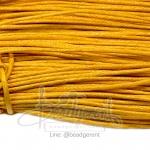 เชือกคอตตอน 1.5มม. สีเหลือง (90 หลา)