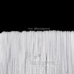 ยางยืด เส้นกลม 1มม. สีขาว (144 หลา)