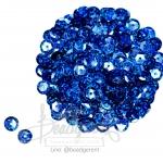 เลื่อมจานดิสโก้ 8มิล สีน้ำเงิน (120 กรัม)