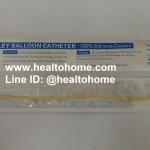 FL001 สายสวนปัสสาวะ (สวนคา) เบอร์ 14 สีเขียว x 1 เส้น