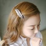 กิ๊ฟติดผม เกาหลี ใบไม้เงิน Silver Leaves
