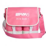 กระเป๋าสะพาย 2pm สีชมพู