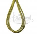 เชือกหนังชามุด สีเขียวจืด (1 หลา)