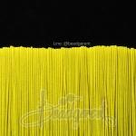 ยางยืด เส้นกลม 1มม. สีเหลืองสะท้อน (144 หลา)