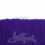 ยางยืด เส้นกลม 1มม. สีม่วง (144 หลา)
