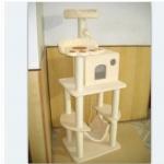 MU0105 คอนโดแมวห้าชั้น บ้านอุโมงค์ บันได ต้นไม้แมว สูง 175 cm