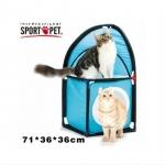 MU0034 อุโมงค์แมว ของเล่นแมว ออกกำลังกาย SportPetDIY