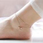 สร้อยข้อเท้าเกาหลี Romantic Gold Bell