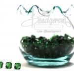 คริสตัลพลาสติก 6มิล สีเขียวเข้ม (500 กรัม)
