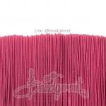 ยางยืด เส้นกลม 1มม. สีชมพูเข้ม (144 หลา)