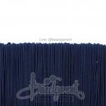 ยางยืด เส้นกลม 1มม. สีน้ำเงินเข้ม (144 หลา)
