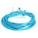 เชือกหางหนู 2มม. สีฟ้า (1 หลา)