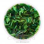 ปล้องยาว โทนรุ้ง สีเขียวเข้ม (15 กรัม)