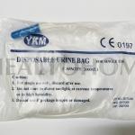 UR001 ถุงปัสสาวะ Urine Bag (เทล่าง) พร้อมสาย 2,000 มล.