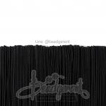 ยางยืด เส้นกลม 1มม. สีดำ (144 หลา)