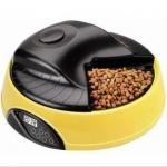 MU0040 เครื่องให้อาหารสัตว์เลี้ยงอัตโนมัติ จอดิจิตอล มีช่องสำหรับใส่อาหาร 4 มื้อ อัดเสียงเจ้าของได้