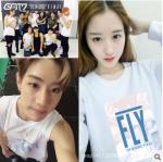 เสื้อแขนยาว GOT7 FLY IN SEOUL (ระบุสี ไซส์)