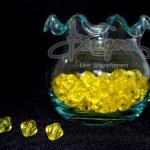 คริสตัลพลาสติก 8มิล สีเหลือง (500 กรัม)