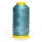 ด้ายไนลอน 210/6 สีฟ้าจืด (1 ม้วน)