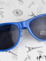 แว่นตากันแดดแฟชั่นเกาหลี สีน้ำเงิน