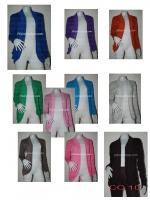 เสื้อคลุมมีกระเป๋า สี ยกแพ็ค