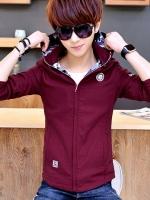 เสื้อแจ็คเก็ตมีหมวกแฟชั่นเกาหลี