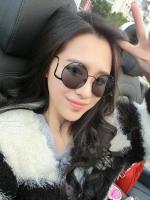 แว่นตาแฟชั่นเกาหลีกรอบดำ