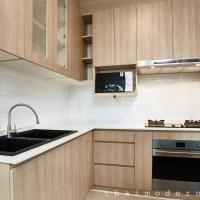 ครัว modern สีไม้classic