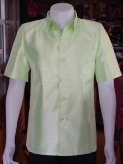 เสื้อสูทไหมลายไทย ไซส์ XL
